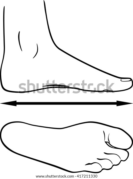 black-white-outline-foot-vector-600w-417