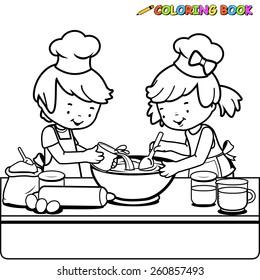 Imágenes, fotos de stock y vectores sobre Kids+food+coloring ...