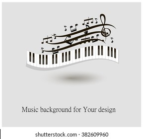 Piano Key Images, Stock Photos & Vectors | Shutterstock