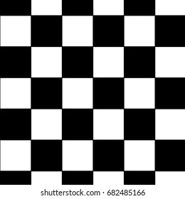 black and white racing and checkered pattern background. Seamless black and white tile