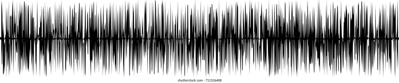 Black and white sound waves. You can use in club, radio, pub, party, concerts, recitals or the audio technology advertising background.