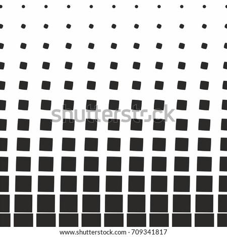 Black White Square Dot Pattern Design Stock Vector Royalty Free