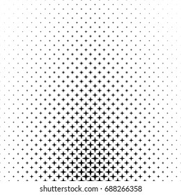 Black white star pattern - abstract background graphic from geometric shapes