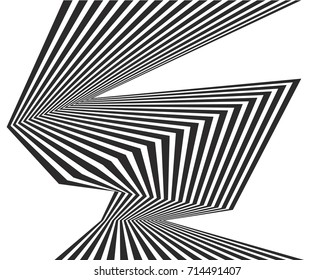 black and white stripe line pattern abstract graphic