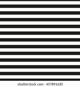 Black and white stripes - seamless pattern