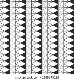 black and white traingle pattern wallpaper concept monochrome halftone vector background