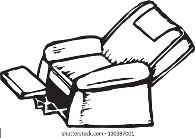 PSD red and white leather armchair, interior icon ... |Clipart Black Leather Chair