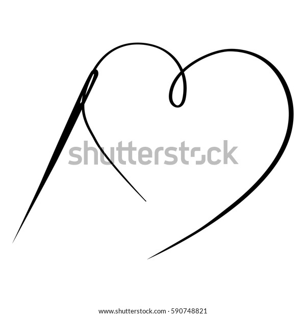 Free Needle And Thread Clip Art with No Background - ClipartKey
