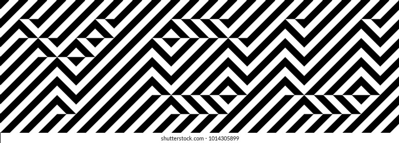 Black and white word YOU. Optical illusion font. Pixelated font. Hidden, hard to read. Easy to recolor.