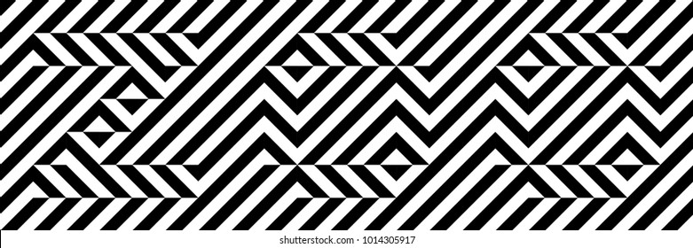 Black and white word ZOO. Optical illusion font. Pixelated font. Hidden, hard to read. Easy to recolor.