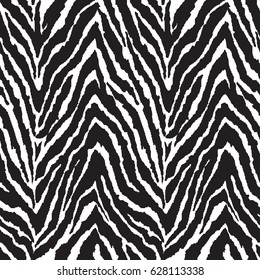 black and white zebra print ~ seamless background