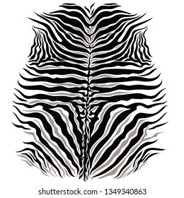 black and white zebra spots texture. Organic safari animal pattern.African horse natural  mottles. Vector shapes strips background.Camouflage animal pattern print.Trendy animal shapes textile design.