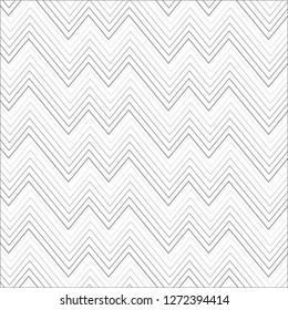 Black and whitel geometric pattern abstract vector background. Modern stylish texture.