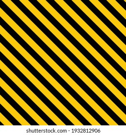 Black and yellow abstract striped background. Vector illustration.