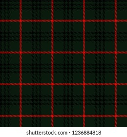 Black,green and red tartan plaid Scottish seamless pattern.Christmas and New year concept.Texture from tartan, plaid, tablecloths, clothes, shirts, dresses, paper, bedding, blankets.