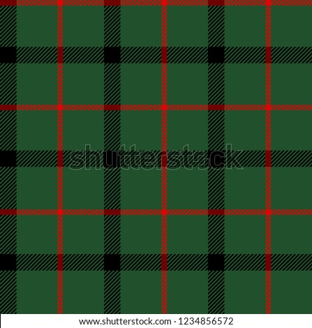 Blackgreen Red Tartan Plaid Scottish Seamless Stock Vector (Royalty ... 97f68f4e0