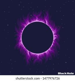 BlackHole Graphic Space star Illustration