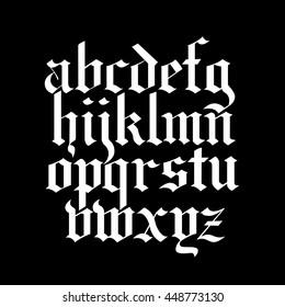 blackletter calligraphy font