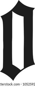 Blackletter modern gothic font Petrix