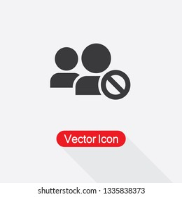 Blacklist Icon Vector Illustration Eps10