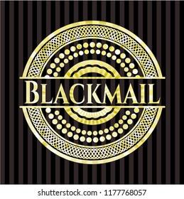Blackmail shiny badge