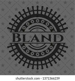 Bland black emblem. Vintage.