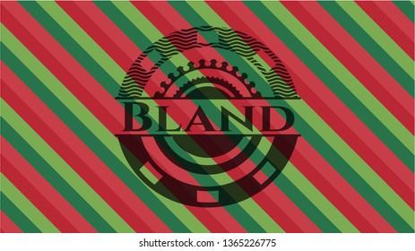 Bland christmas emblem.