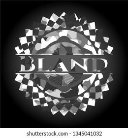 Bland on grey camo texture
