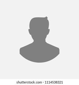 Blank avatar, photo place holder