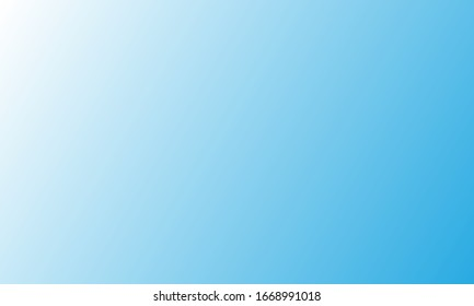 Blank background vector with blue color gradient. Perfect for wallpaper, banner, poster, background web, etc.