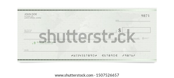 Fake Check Template Free from image.shutterstock.com