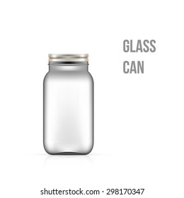 Blank Bottle on white background vector illustration