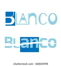 Blank business logo