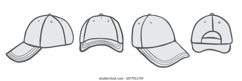 d031d4b4222 Royalty Free Stock Illustration of Blank Cap Space Your Design Stock ...