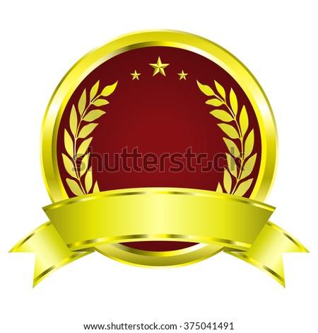 blank certificate ribbon vector illustration stock vector royalty