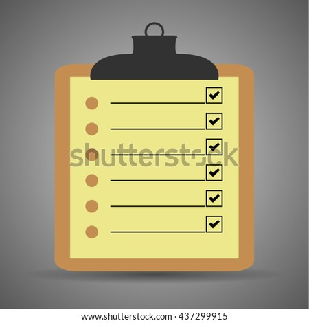 blank checklist form todo list reminder stock vector royalty free