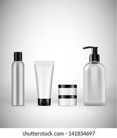 blank cosmetics packaging