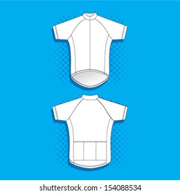 Blank Cycling Jersey