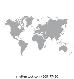 World map flat images stock photos vectors shutterstock blank grey similar world map isolated on white background monochrome worldmap vector template for website gumiabroncs Gallery