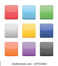 Blank Icons Templates for Web Mobile and Applications