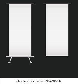 Blank Kakemono Set
