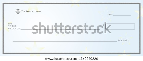 Lottery Ticket Template from image.shutterstock.com
