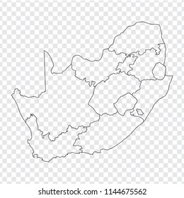 South Africa Maps Provinces Stock Illustrations, Images ...