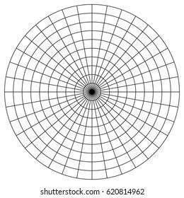photograph regarding Printable Polar Graph Paper named Polar Graph Visuals, Inventory Pictures Vectors Shutterstock