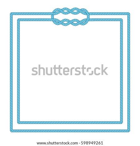 blank poster template nautical border wedding stock vector royalty