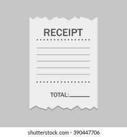 blank receipt images stock photos vectors shutterstock
