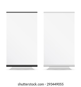 Blank roll up banners, EPS10