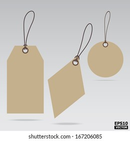 Blank Sale Tags or Price tags Design for business or e-commerce.
