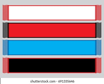 Blank Scarf for Template
