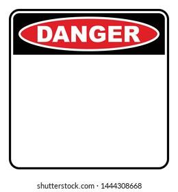 Danger Sign Görseller, Stok Fotoğraflar ve Vektörler | Shutterstock